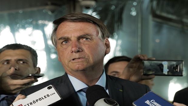 """""""Se foi ilegal, a gente vê lá na frente"""", diz Bolsonaro sobre denúncia contra chefe da Secom"""