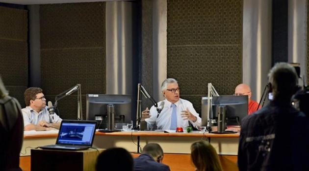 """""""Temos de fazer a reforma como um todo"""", diz Caiado sobre retirada do ICMS"""