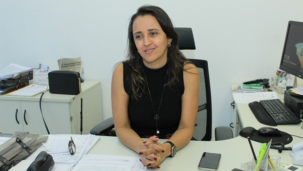 Superintendente em Vigilância de Saúde da Secretaria Estadual de Saúde, Flúvia Amorim