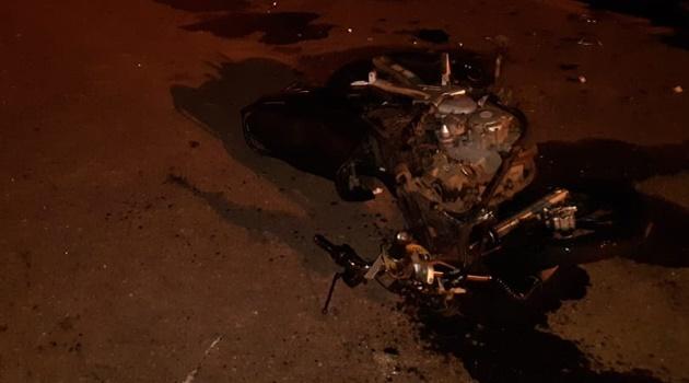 Motociclista que fazia entrega por aplicativo morre em acidente de trânsito