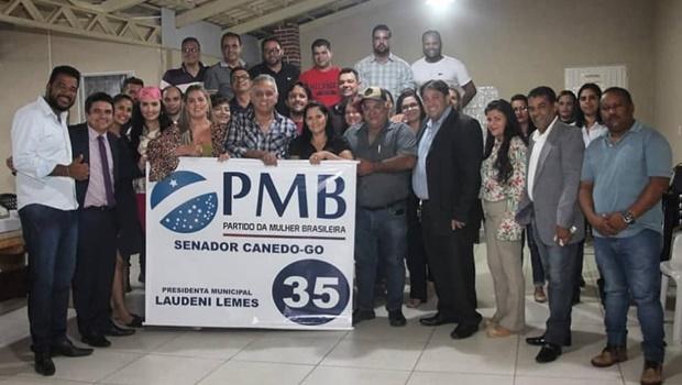 Laudeni Lemes é nomeada presidente do PMB de Senador Canedo