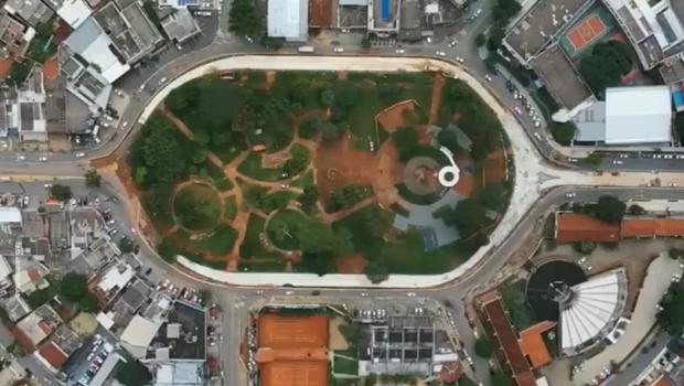 Praça do Cruzeiro deve ser concluída até o final de fevereiro