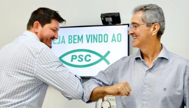 Ozair José assume PSC de Aparecida após convite de Glaustin da Fokus