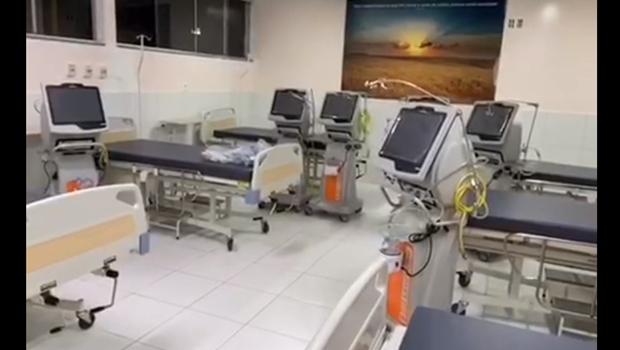 Centro de internação exclusivo para pacientes com coronavírus de Anápolis terá 45 leitos de UTI