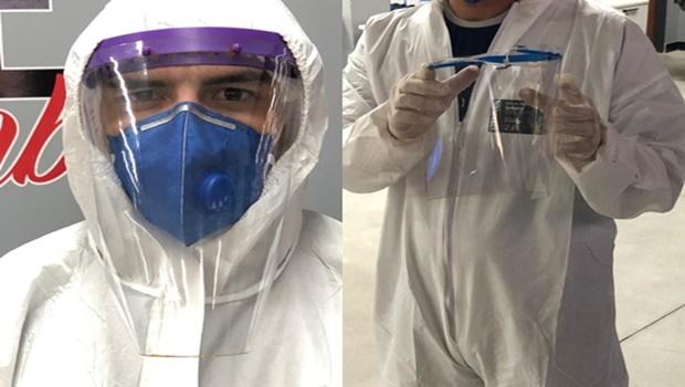 Pesquisadores da UFG desenvolvem máscara contra coronavírus