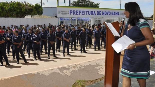 Novo Gama tem liberação do porte de armas para guardas municipais