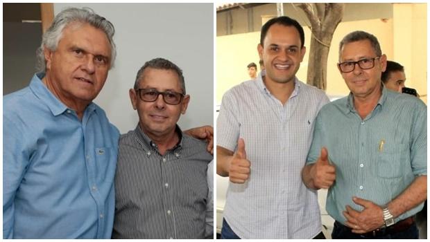 Pré-candidato em Uruaçu, Machadinho tem apoio de Caiado e Salim