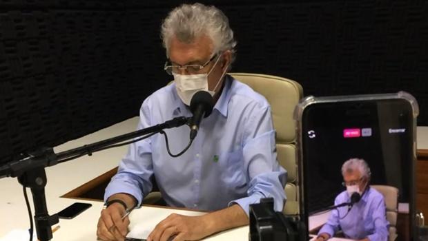 Governador Ronaldo Caiado não descarta novo decreto de isolamento