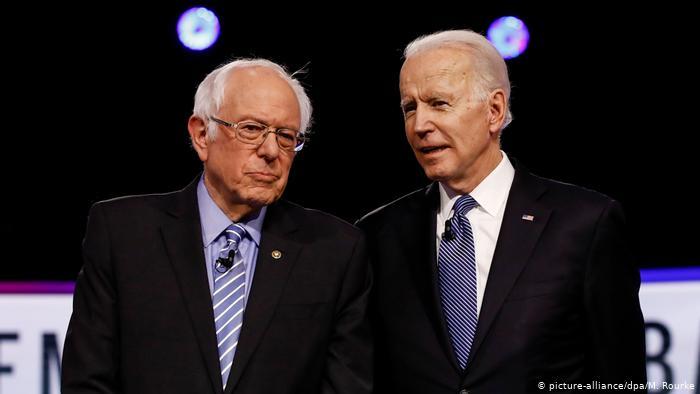 Joe Biden é o candidato democrata a presidente dos EUA. Bernie Sanders desiste da disputa