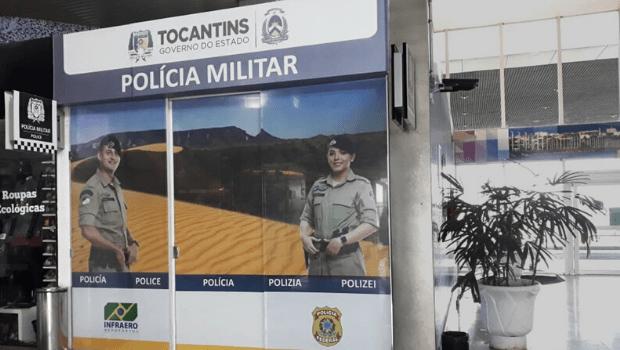 Polícia Militar passa a operar no aeroporto de Palmas