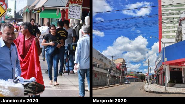 Lojistas buscam reabertura do comércio na região da 44 junto ao prefeito