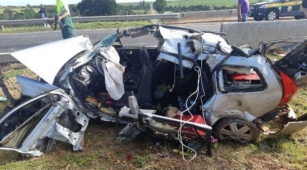 Jovem morre em acidente na BR-050, em Campo Alegre de Goiás