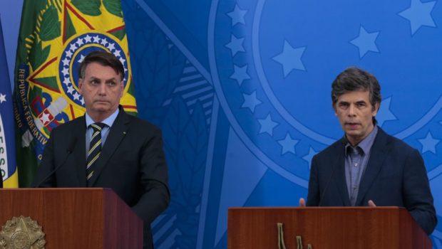 """""""Existe uma alinhamento completo entre mim e o presidente"""", diz novo ministro da Saúde, Nelson Teich"""