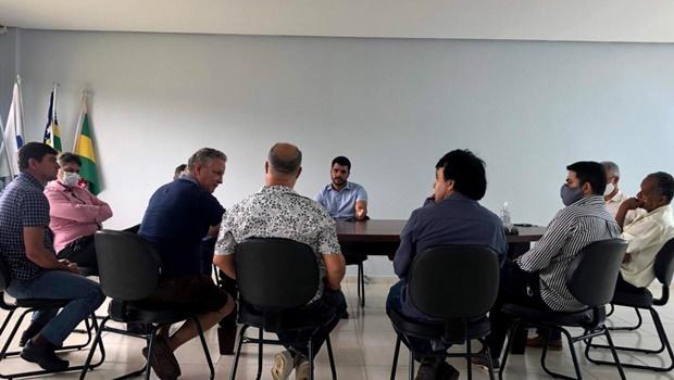 """""""Ouvimos empresários de Trindade para reabrir comércio"""", diz Marden Júnior"""