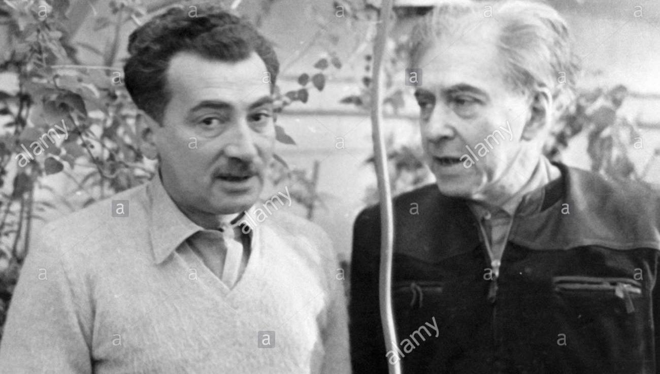 As rosas verdes de Amália Hermano para o escritor russo Iliá Erenburg