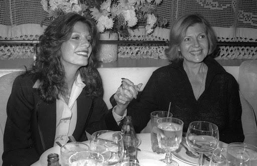 Yasmin Khan e Rita Hayworth | Foto: Reprodução