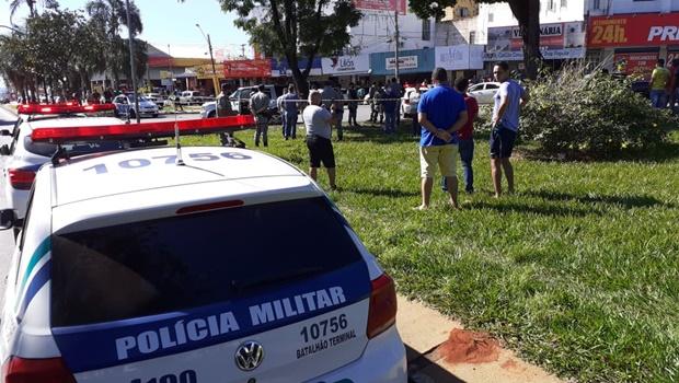 Troca de tiros na Praça da Bíblia foi motivada por rixa entre família de ciganos