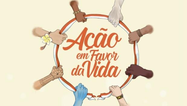 Grupo organiza ação em homenagem a profissionais de saúde e vítimas da Covid-19