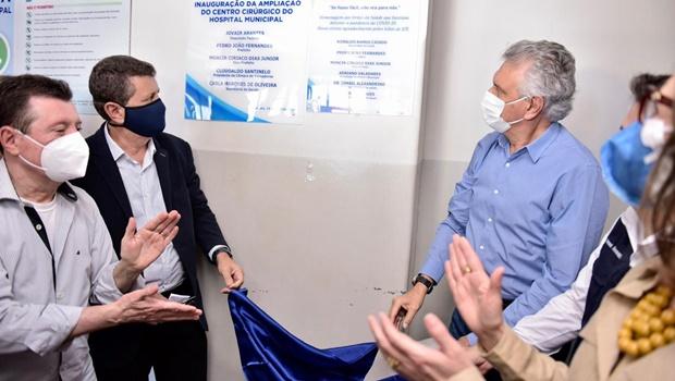 Governador entrega leitos de UTI no HCamp de Porangatu, os primeiros do Norte goiano