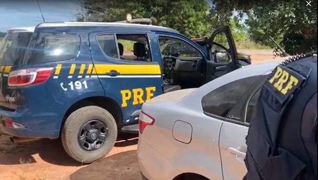 Suspeito de roubo de cargas é preso por força tarefa na BR-153