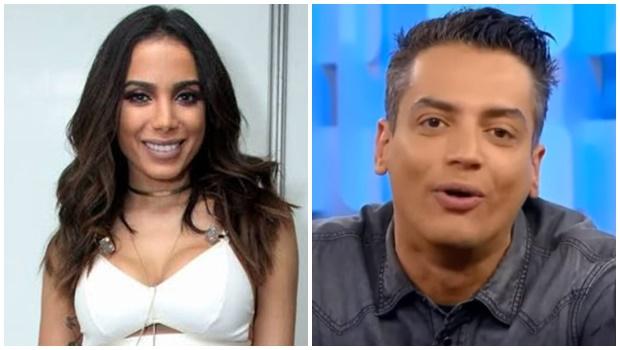 """Anitta afirma ser chantageada por colunista Leo Dias e dispara: """"Não tenho mais medo"""""""