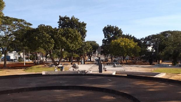 Obras da Praça do Cruzeiro entram em fase final