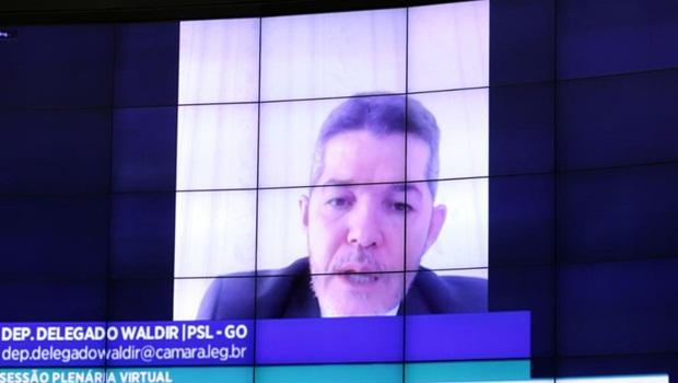 Delegado Waldir - Foto Michel Jesus Câmara dos Deputados