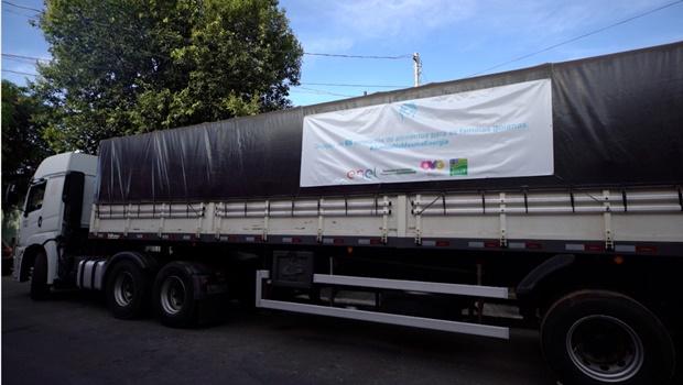 Enel Goiás doa 4 mil cestas básicas para a OVG