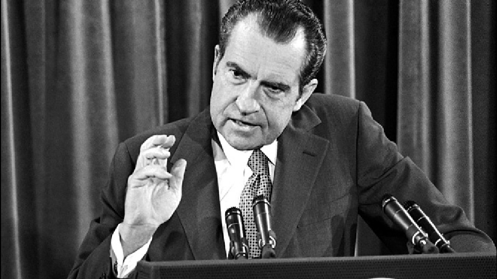 Mentir foi a ruína do presidente Richard Nixon