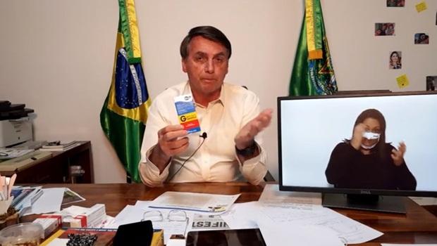 Bolsonaro fala em divulgar vídeo com ministros que tomaram hidroxicloroquina e se recuperaram