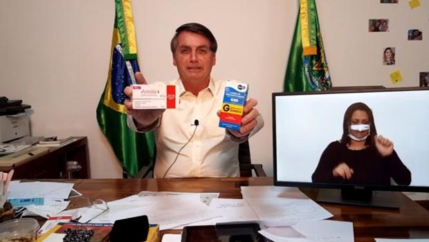 Jair Bolsonaro Live 16-7-2020 3 - Foto Reprodução Facebook