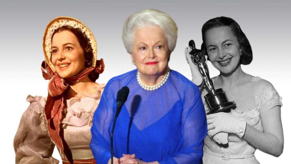 """Olivia de Havilland estrelou sete filmes de Michael Curtiz e brilhou em """"E o Vento Levou"""""""