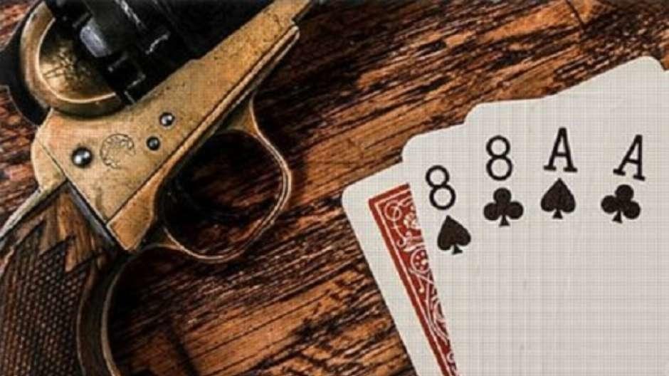 O jogo de pôquer e a mão do homem morto