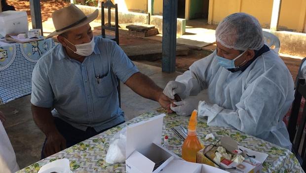 Governo de Goiás amplia testagem em instituições para idosos numa parceria com Banco Itaú
