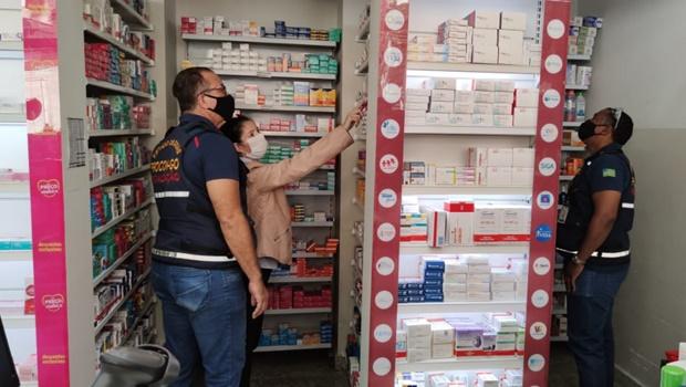 Procon fiscaliza farmácias da capital por aumento abusivo em medicamentos para tratamento da Covid-19