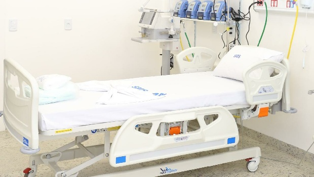Número de leitos de UTI para tratamento de Covid-19 em Goiânia aumentou 347,5% em um mês