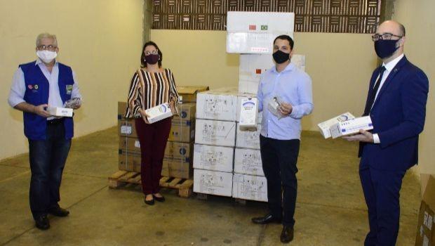 OVG recebe doações de províncias chinesas