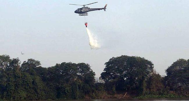 Forças Armadas reforçam combate aos incêndios no Pantanal