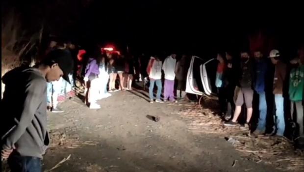 Fiscalização identifica festa clandestina com aproximadamente 60 pessoas em Caldas Novas