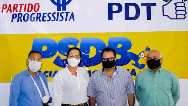 PSL, PP, PDT e PT fecham com Cássia Dourado para prefeita de Santa Isabel