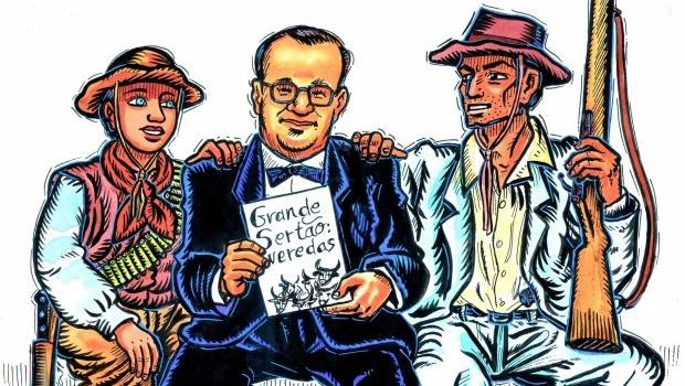 Guimarães Rosa e o maior julgamento literário da história do sertão
