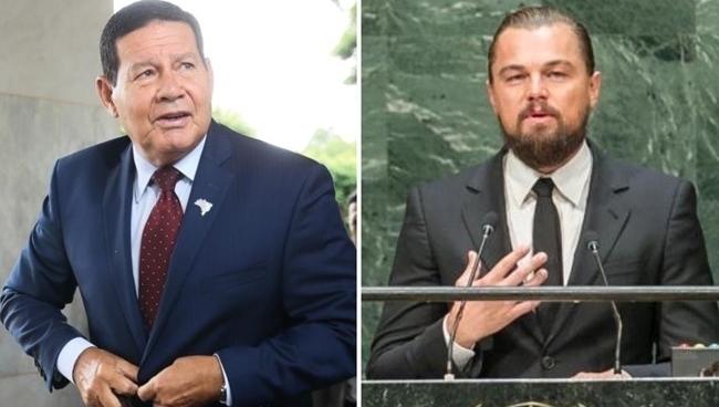 Mourão, se quer contestar Leonardo DiCaprio, precisa provar que o ator está errado sobre queimadas