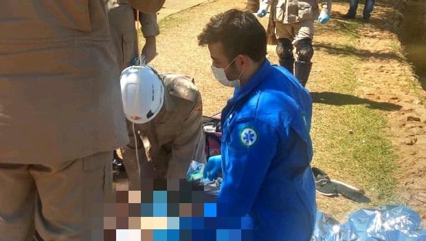 Homem morre após se afogar no lago do Vaca Brava