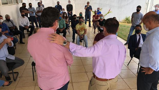 Vanderlan Cardoso se reúne pela primeira vez com seu conselho político