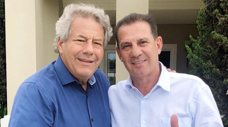 Senador pelo MDB, Luiz do Carmo declara apoio a Vanderlan