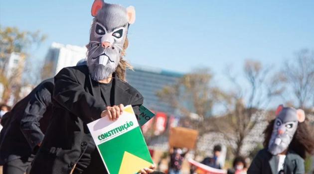 Sem desfile cívico, Esplanada recebe manifestantes neste 7 de setembro