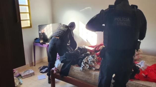 Genarc desmantela quadrilha que praticava tráfico, homicídios e roubos de veículo