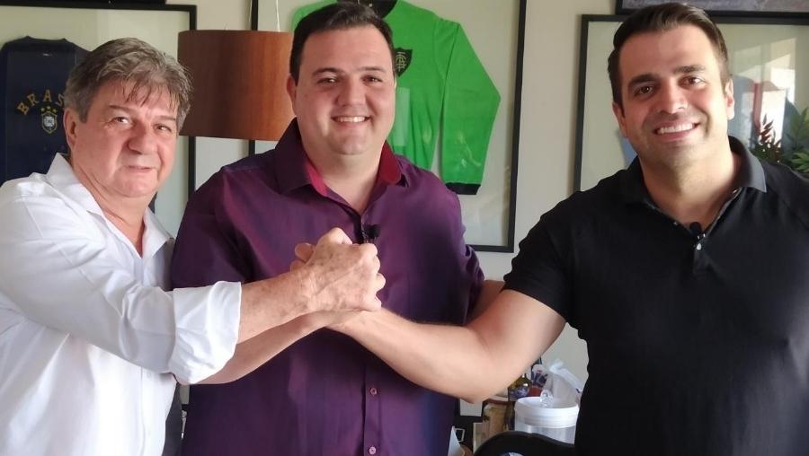 Luciano Tampa rompe com o PL e apoia Gustavo Sebba para prefeito de Catalão