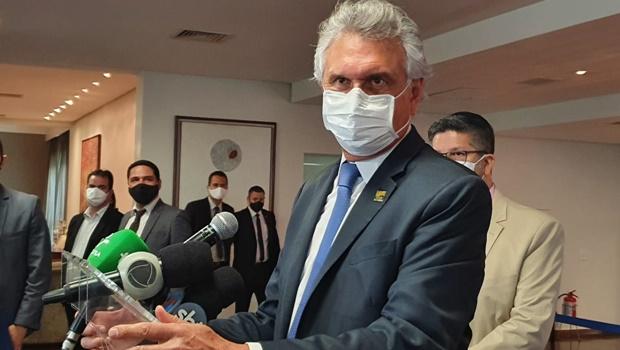 Caiado descarta retorno de eventos com grande público em Goiás