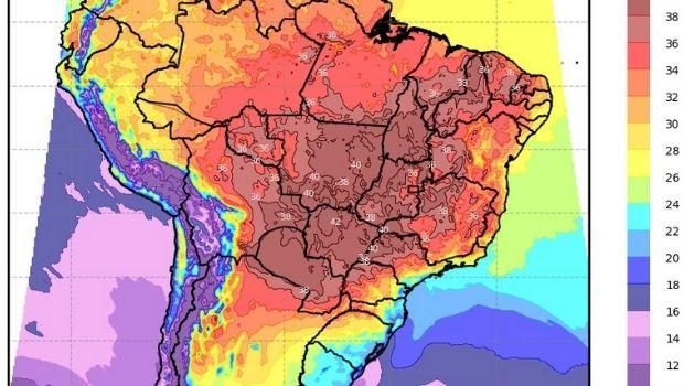Próximos dias serão marcados por temperaturas elevadas e baixa umidade, garante especialista